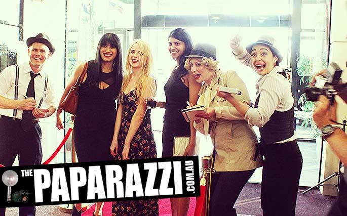 hire the paparazzi